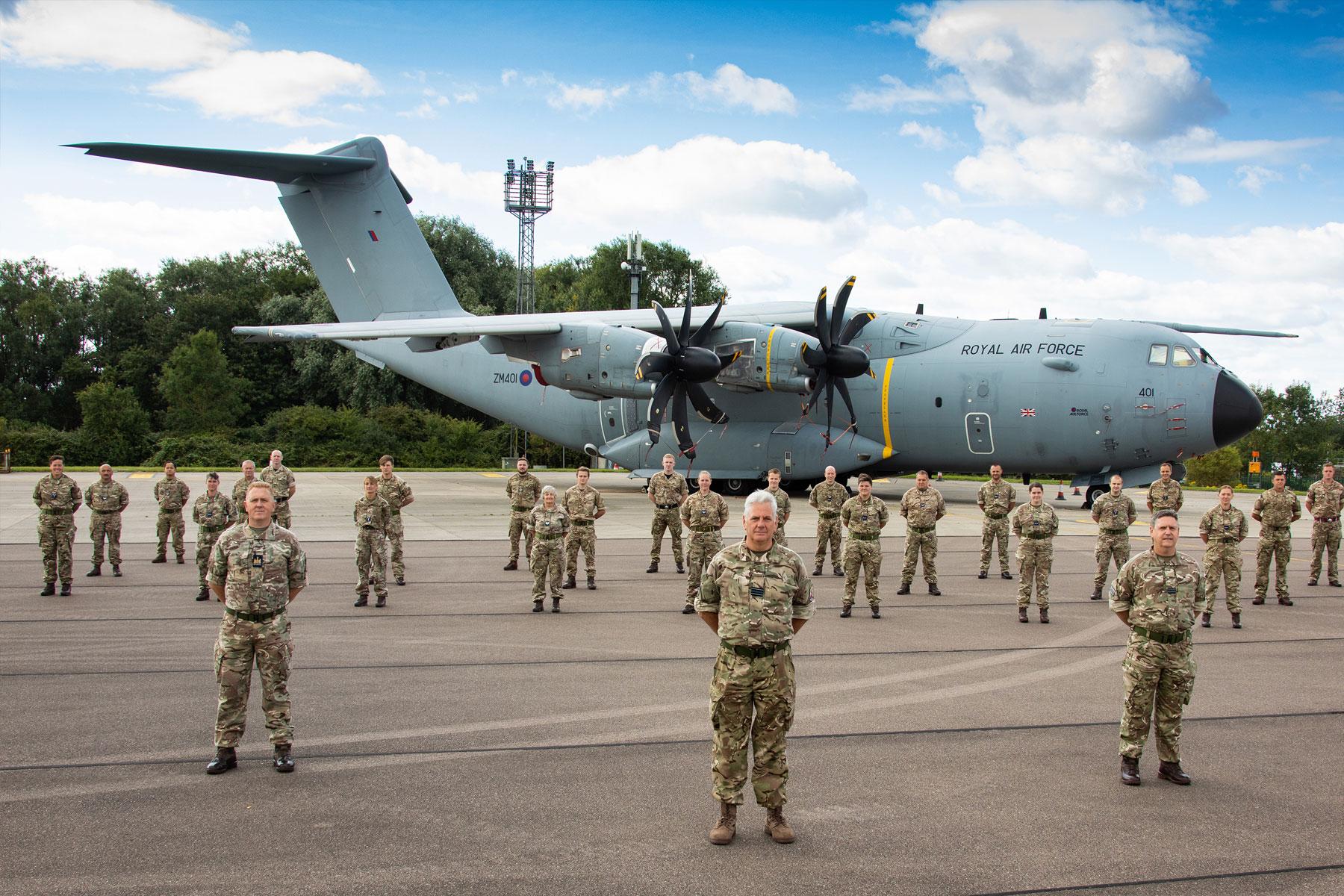 RAF Reserves deliver over 5000 tests